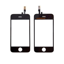 Dotykové sklo (touch screen digitizér) pro Apple iPhone 3GS (touch screen digitizer) - černé - kvalita A