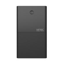 Externí baterie / power bank VINSIC - 28000 mAh - 3x USB, celkem 3,1A - černá