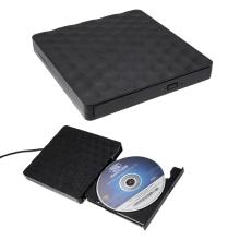 Optická mechanika CD / DVD / DVD-RW - externí - USB 3.0 připojení - černá