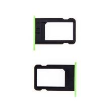 Rámeček / šuplík na Nano SIM pro Apple iPhone 5C - zelený - kvalita A+