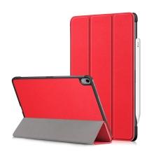 """Pouzdro / kryt pro Apple iPad Pro 11"""" (2018) - funkce chytrého uspání + stojánek - červené"""