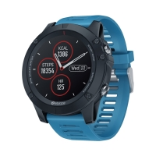 Fitness chytré hodinky ZEBLAZE Vibe 3 IPS - kruhový IPS displej - Bluetooth + GPS - vodotěsné - modré