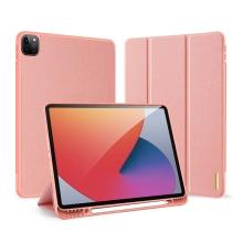"""Pouzdro DUX DUCIS pro Apple iPad Pro 12,9"""" (2018 / 2020 / 2021) - umělá kůže - růžové"""