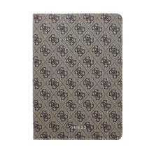 Pouzdro GUESS 4G pro Apple iPad Air 1 / 2 / 9,7 (2017-2018) - stojánek - gumové - šedé