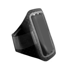 Sportovní pouzdro BASEUS pro Apple iPhone 6 Plus / 6S Plus / 7 Plus / 8 Plus - ultratenké - černé + reflexní prvky