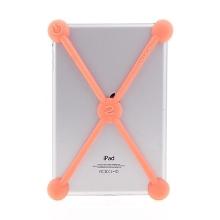 Nárazuvzdorné silikonové koule chránící Apple iPad mini / mini 2 / mini 3 - oranžové