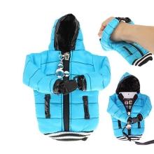 Ochranné pouzdro světle modrá bunda s kapucí se šňůrkou na krk pro Apple iPhone / iPod a podobná zařízení