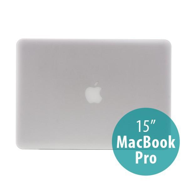 Tenký ochranný plastový obal pro Apple MacBook Pro 15.4 (model A1286) - matný - průhledný