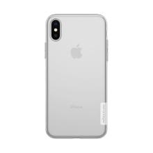 Kryt NILLKIN Nature pro Apple iPhone X - gumový - průhledný