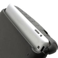 Ochranné pěnové pouzdro pro děti na Apple iPad 4.gen. s rukojetí / stojánkem - černé
