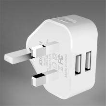 Nabíječka / adaptér JOYROOM - 2x USB - 2,4A - UK verze