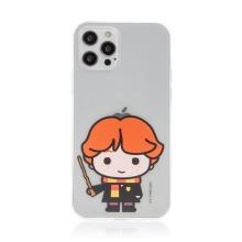 Kryt Harry Potter pro Apple iPhone 12 / 12 Pro - gumový - Ron Weasley - průhledný