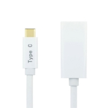 Redukce USB-C na HDMI - 20cm bílá