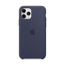Originální kryt pro Apple iPhone 11 Pro - silikonový - půlnočně modrý
