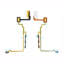 Flex kabel s audio jackem, mikrospínačem power a ovládáním hlasitosti pro Apple iPod nano 7.gen. - bílý - kvalita A+