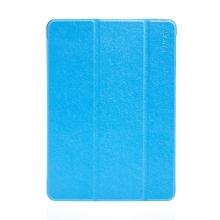Pouzdro ENKAY pro Apple iPad Air 1 / 9,7 (2017-2018) - stojánek + funkce chytrého uspání - elegantní textura - modré