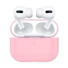 Pouzdro pro Apple AirPods Pro - silikonové - růžové