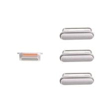 Sada postranních tlačítek / tlačítka pro Apple iPhone 6S Plus (Power + Volume + Mute) - stříbrná (Silver) - kvalita A+