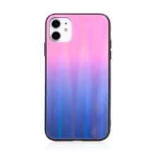 Kryt pro Apple iPhone 11 - skleněný / gumový - barevný