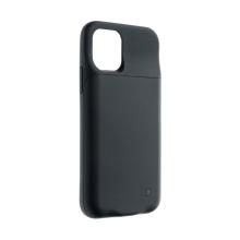 Externí baterie / kryt pro Apple iPhone 11 Pro - 3500 mAh - matná - černá