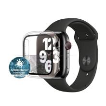 Tvrzené sklo + rámeček PANZERGLASS pro Apple Watch 40mm Series 4 / 5 / 6 / SE - průhledný