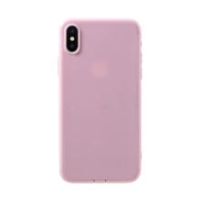 Kryt pro Apple iPhone X / Xs - gumový - růžový