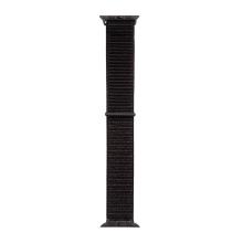 Řemínek TACTICAL pro Apple Watch 45mm / 44mm / 42mm - nylonový - černý