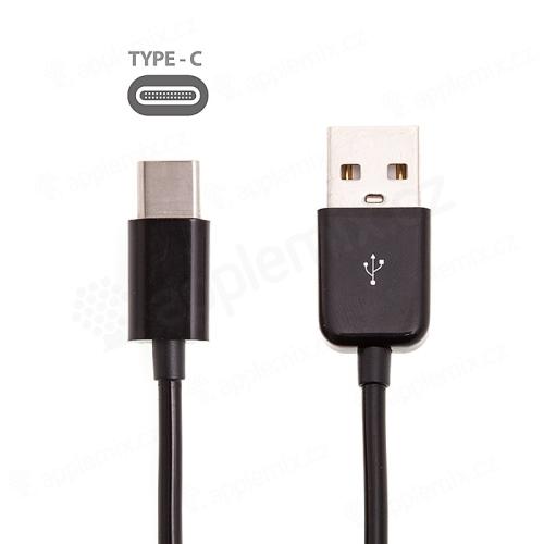 Kabel USB-C synchronizační a nabíjecí - spirálový bílý