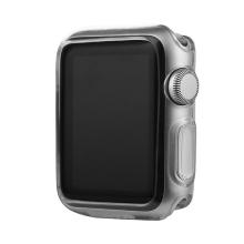 Ultra tenké gumové pouzdro BASEUS pro Apple Watch 38mm (tl. 0,65mm) - průhledné