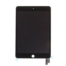 Náhradní LCD panel + přední dotykové sklo (touch screen) pro Apple iPad mini 4 - černý - kvalita A+