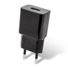 Nabíječka / EU napájecí adaptér MAXLIFE - 1x USB - 10,5W - černý