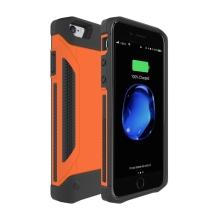 Externí baterie / kryt pro Apple iPhone 6 / 6S / 7 - 4000 mAh - oranžová
