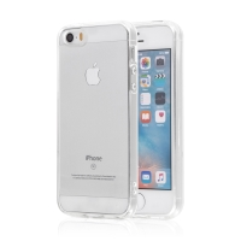 Kryt SWISSTEN Clear Jelly pro Apple iPhone 5 / 5S / SE - gumový - průhledný