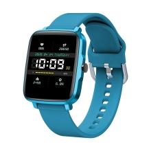 Fitness chytré hodinky LEMONDA F2 - tlakoměr / krokoměr / měřič tepu - Bluetooth - modré