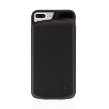 Externí baterie / kryt pro Apple iPhone 6 Plus / 6S Plus / 7 Plus / 8 Plus - 3200 mAh - matná - černá