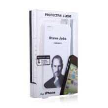 Vzpomínkový ochranný kryt pro Apple iPhone 4 s motivem Steva Jobse