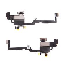 Horní reproduktor / sluchátko + flex kabel senzoru přiblížení (proximity) pro Apple iPhone Xs - kvalita A+