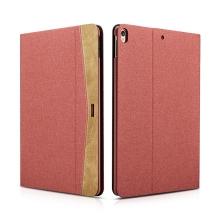 """Pouzdro XOOMZ pro Apple iPad Pro 10,5"""" / Air 3 (2019) - stojánek + funkce chytrého uspání - látkové - červené"""