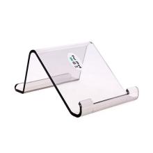 Plastový stojánek pro Apple iPad / iPhone - průhledný