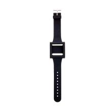 Hodinkový řemínek pro Apple iPod nano 6 silikonový - černý