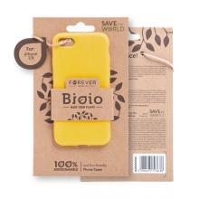 Kryt FOREVER BIOIO - pro Apple iPhone 7 / 8 / SE (2020) - Zero Waste kompostovatelný kryt - žlutý