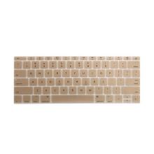 Kryt klávesnice ENKAY pro Apple MacBook 12 / Pro 13 (2016) bez Touch baru - silikonový - zlatý