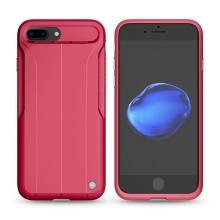 Kryt Nillkin Amp pro Apple iPhone 7 Plus / 8 Plus s pasivním zesilovačem zvuku - gumový - červený