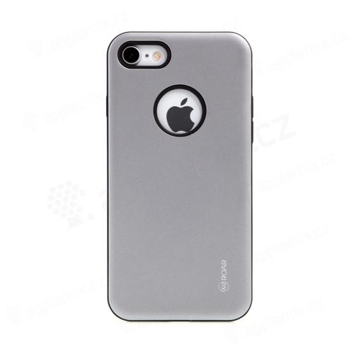 Kryt ROAR pro Apple iPhone 7 / 8 - plastový / gumový - černý / šedý