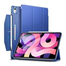 Pouzdro / kryt pro Apple iPad Air 4 (2020) ESR - funkce chytrého uspání - umělá kůže - modré