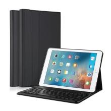 Klávesnice Bluetooth odnímatelná + kryt / pouzdro pro Apple iPad Air 1 / Air 2 / 9,7 (2017) - černá
