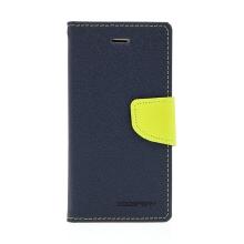 Pouzdro Mercury Goospery pro Apple iPhone 6 / 6S - stojánek a prostor pro platební karty - modro-zelené