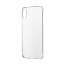 Kryt BASEUS pro Apple iPhone X - ultratenký - plastový - matný průhledný