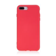 Kryt pro Apple iPhone 7 Plus / 8 Plus - příjemný na dotek - silikonový - růžový