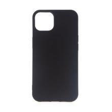 Kryt pro Apple iPhone 13 mini - gumový - černý